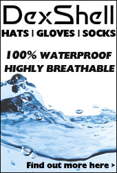 Dexshell Waterproof Socks, Gloves, Hats