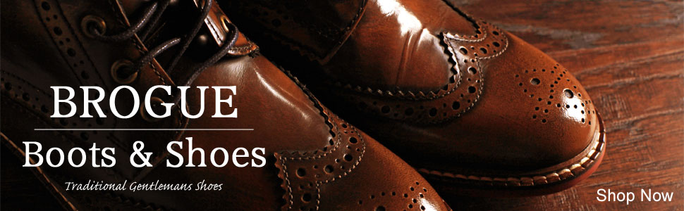 brogue shoes & boots