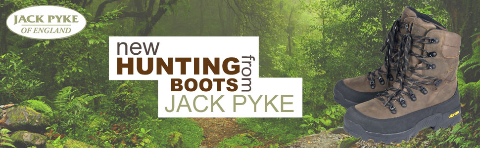 jacket pyke hunters boot