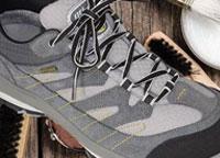Cleaning nubuck walking shoes