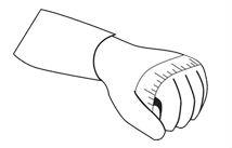 Dexshell Glove Chart