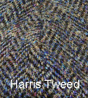 Mens Harris Tweed Caps