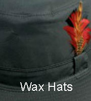 Mens Wax Hats