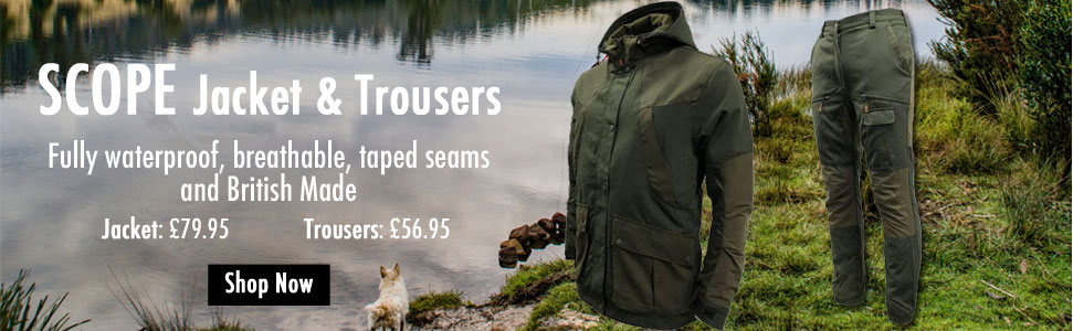 Game Scope Waterproof Jacket and Trousers