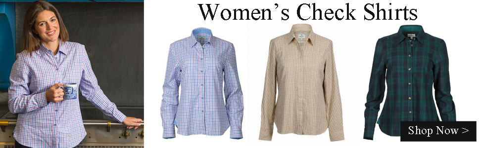 Women's Check Shirts & Blouses